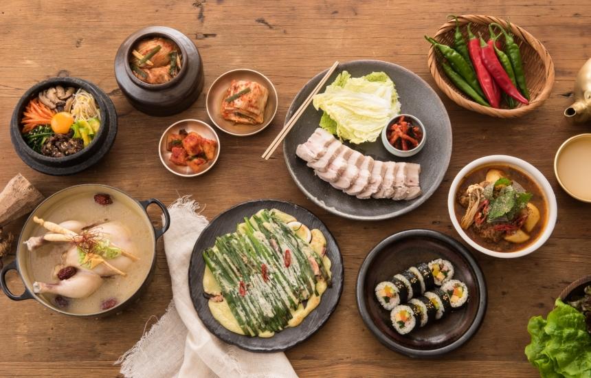 色々な韓国料理