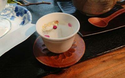 梅の花のお茶