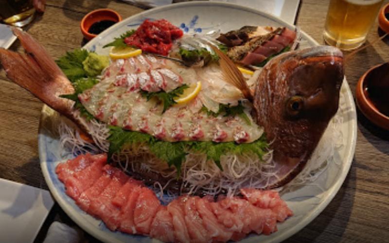 魚の活き造り