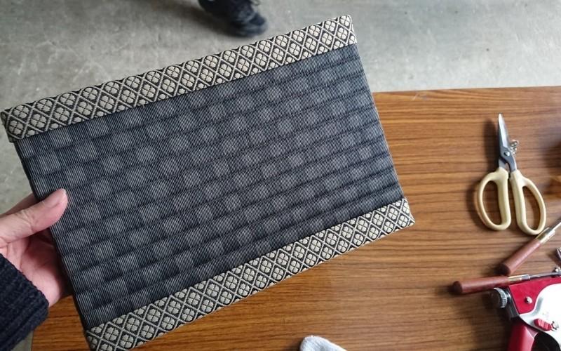 完成したミニ畳