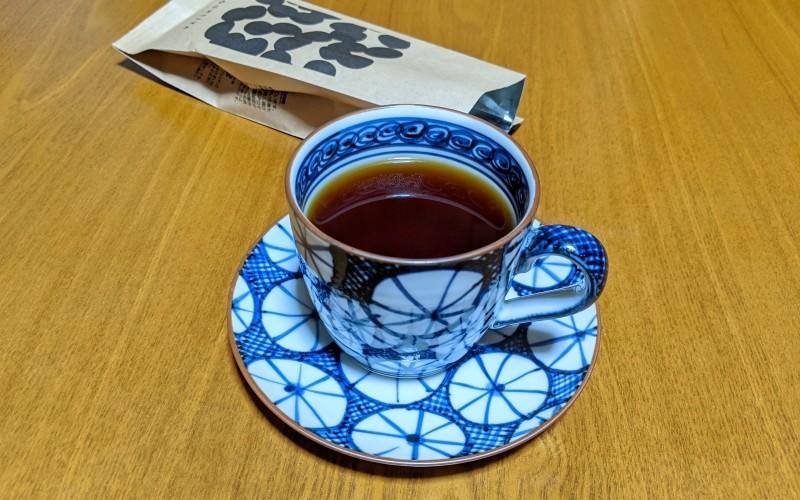 淹れてのコーヒー
