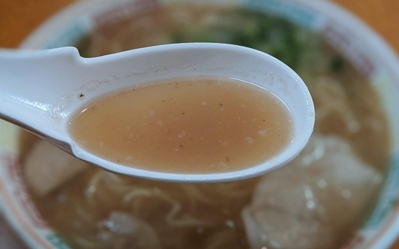 レンゲとスープ