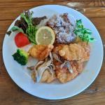 【大牟田】cafe doex marie(カフェドゥマリエ)のランチでハーブチキンカツを食べてきた!