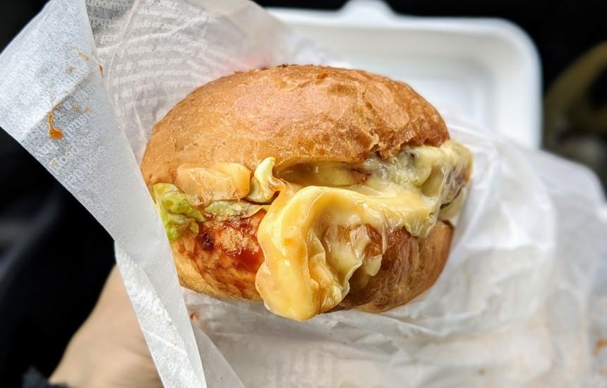 ミスターキッチンのハンバーガー
