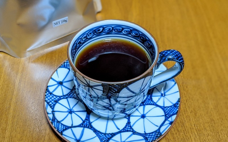 淹れたてのコーヒー