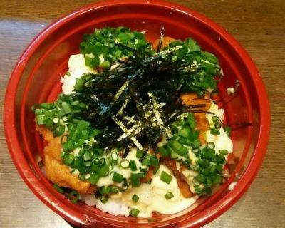 魚フライねぎタル丼