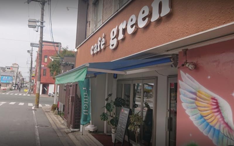 カフェグリーンの外観