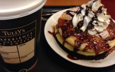 タリーズコーヒーのパンケーキ