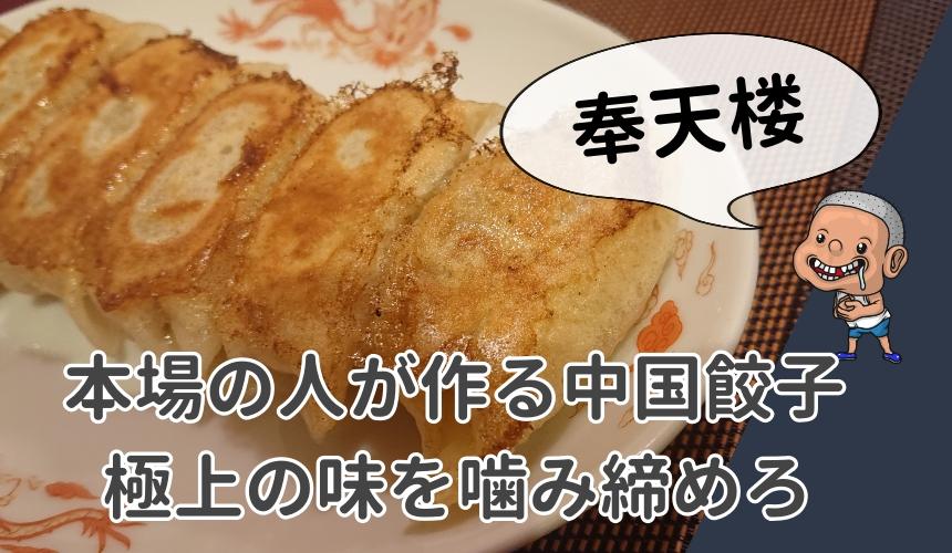 本場の人が作る中国餃子