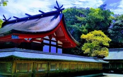 辺津宮の本殿