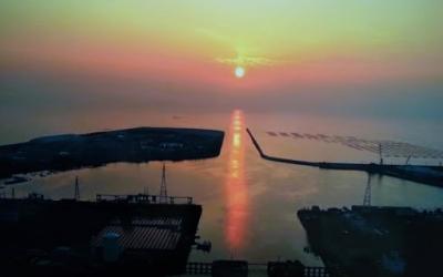 三池港の全形